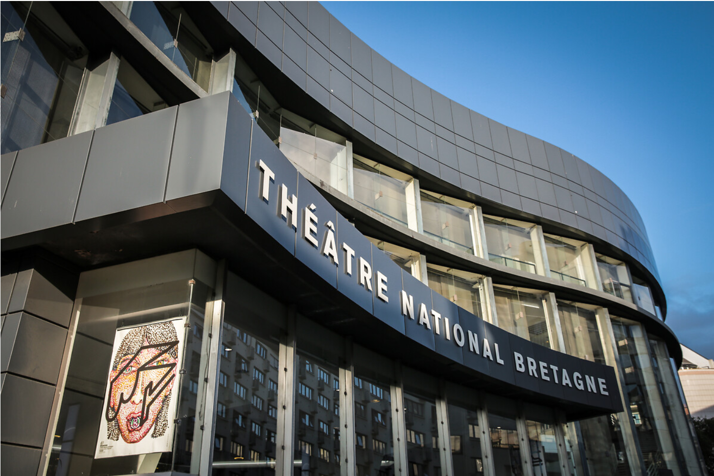Façade du Théâtre National de Bretagne